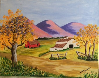 """Painting """"Autumn Time"""""""