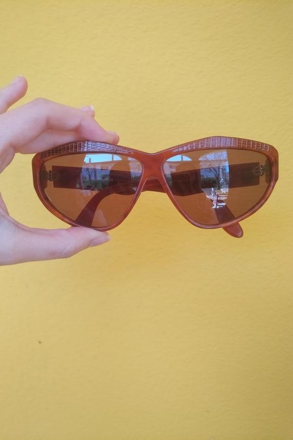 Trussardi sunglasses lunette brille italy 80s NOS