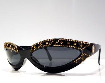 Gianni Versace mod 440 vintage 90s sunglasses lunette zonnebril shades