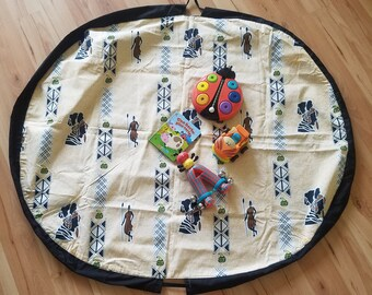 Baby playmat, baby convertible playmat