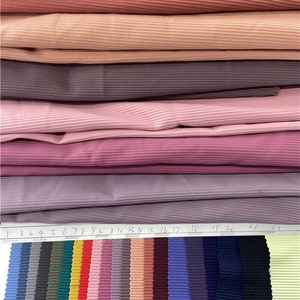 bikini 73Polyester27Spandex works Swimwear price sold by yard R7586 Thicker Weight 250GSM Highly 4 Stretch way Ribbed lycra Pint