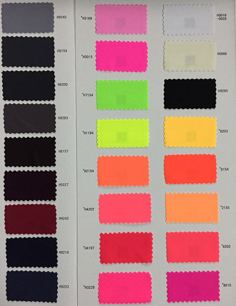Price Sold By Yard 131 Colors Nylon Spandex Lycra Matt Solid Colors 71-131 Colors 4 Stretch way spandex lycra ideal for swimwear -2#