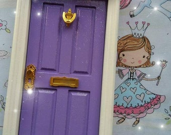 Fairy Door - Purple