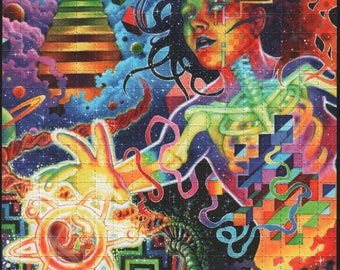 Deoxyribose by Callie Fink - Blotter art