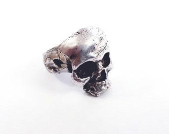 Aaron Malone-Skull ring
