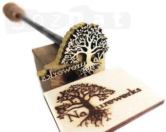 Custom Branding Iron for Wood Burning Stamp Custom Wood Brand Custom Wood Branding Iron Personalized Woodburning Branding Iron Stamp Custom