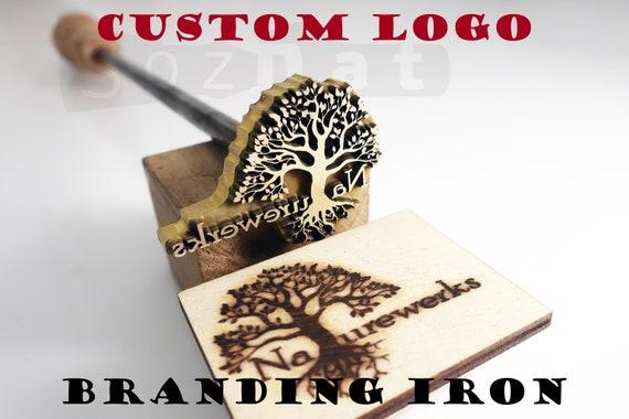 Custom Branding Iron For Wood Branding Custom Leather