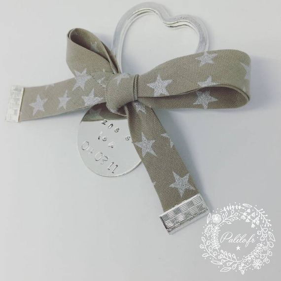 """Keychain """"Joli Coeur"""" liberty with personalized engraving by Palilo jewelry"""