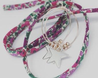 Mes Boucles d'Oreilles argentées Starlight (petit  modèle) by Palilo