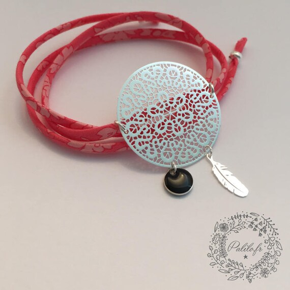 My Boho Chic charm. Bracelet Liberty by Palilo