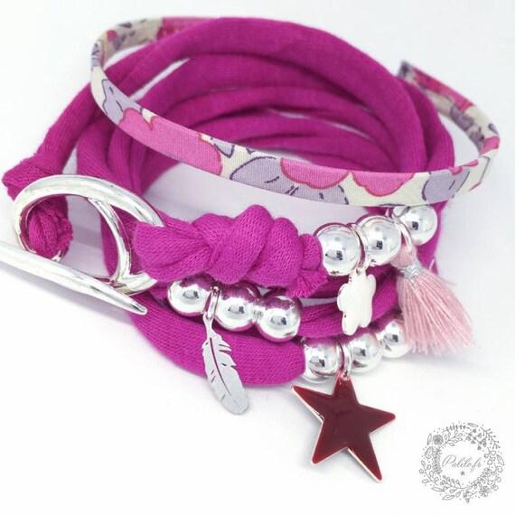 Bracelet multi-row Girly Palilo by blanket - creating original Boho Chic by Palilo jewelry