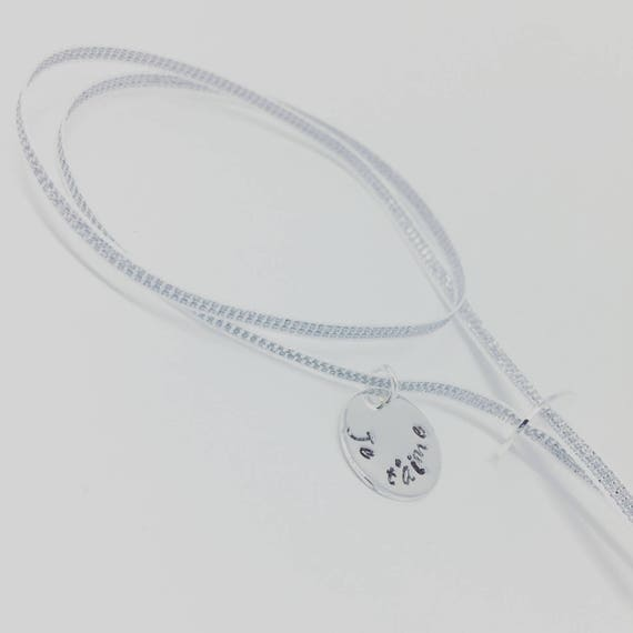 ★ Ribbon BRACELET Personalized Bracelet GriGri lucky silver with personalized engraving ★ Palilo jewelry ★
