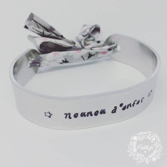 LIBERTY with personalized engraving by Palilo Jewelry Silver cuff Bangle Bracelet
