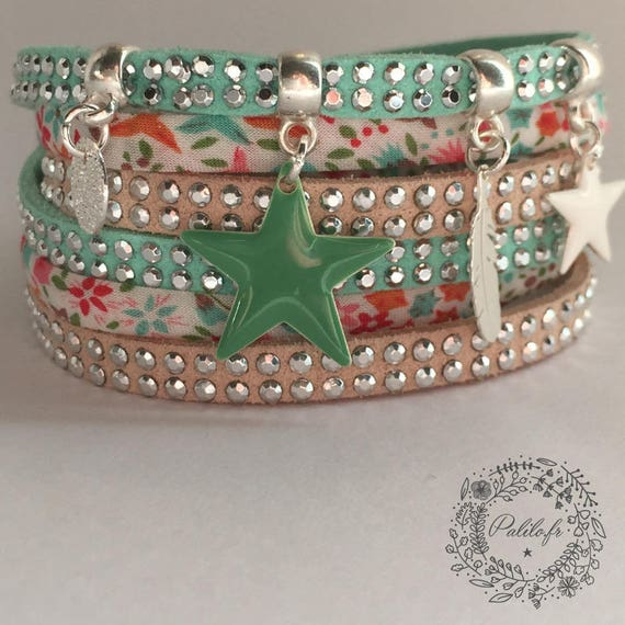 Bracelet Liberty Girl My Bright Star Miss Pop Palilo by P.