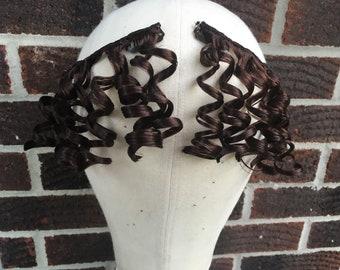 Early 19th century front curls, Jane Austen curls