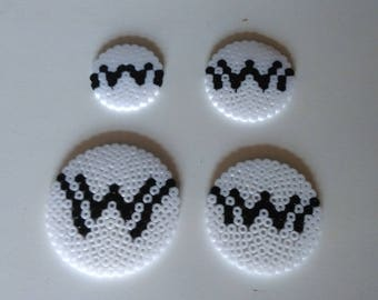 Westworld Logo perler beads various sizes