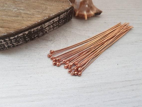 18g 10 PCs Choice of Length Brass Paddle Pins 1mm