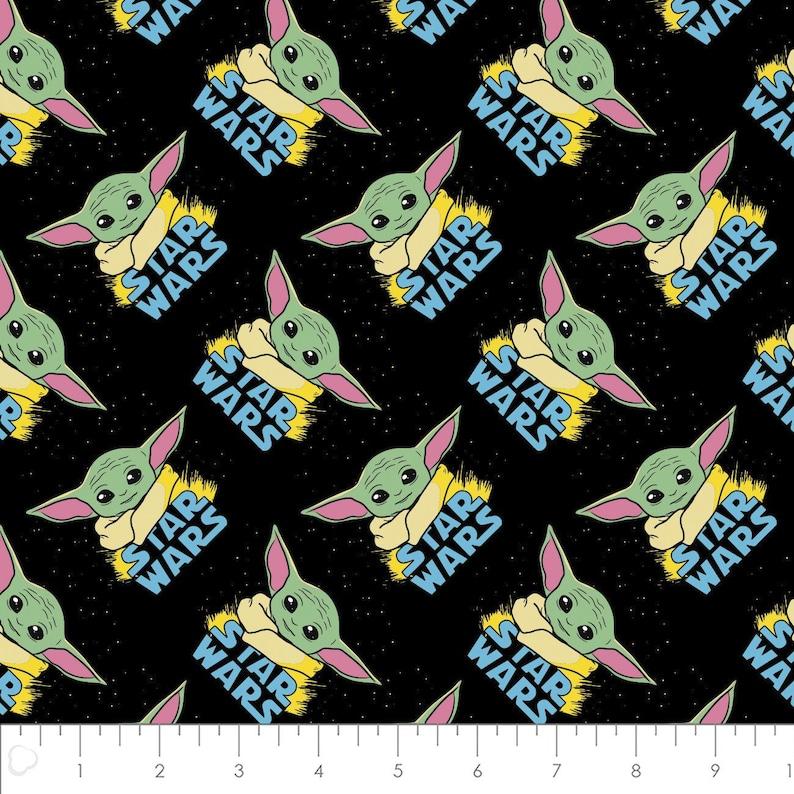 Great for Mask Making Star Wars 12 yard cut 100/% Cotton Fabric Camelot Fabrics Mandalorian 73800223-1