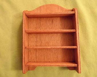 KITCHEN shelf for Dollhouse