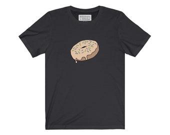 Sprinkled Maple Donut Tshirt - Unisex Jersey Short Sleeve Tee