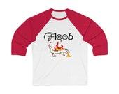 Floob Records Classic Tshirt - Unisex 3/4 Sleeve Baseball Tee - Support Indie Music!