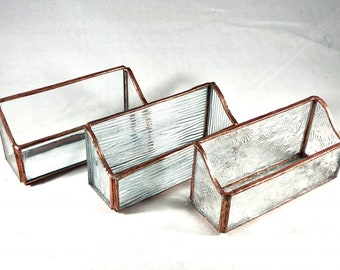 Stained Glass Business Card Holder (Standard)