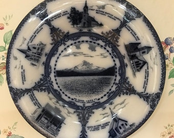 Mount Hood Oregon Souvenir Plate