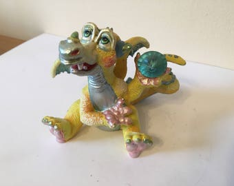 "Franklin Mint Mood Dragon - ""Dippy"""
