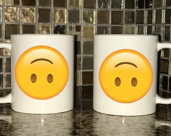Mug - Upside-Down Emoji
