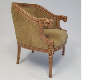 Astonishing Upholstered Accent Chair Etsy Best Image Libraries Counlowcountryjoecom