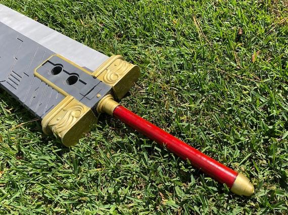 Final Fantasy 7 Buster Sword 1 1 Scale Replica Cosplay Remake