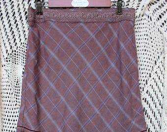 Women's Ruffled Victorian Style Skirt - Size 10