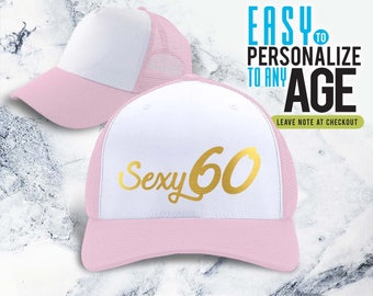 Sexy 60 1958 60th Birthday Gifts Gift Hat For Women Vintage