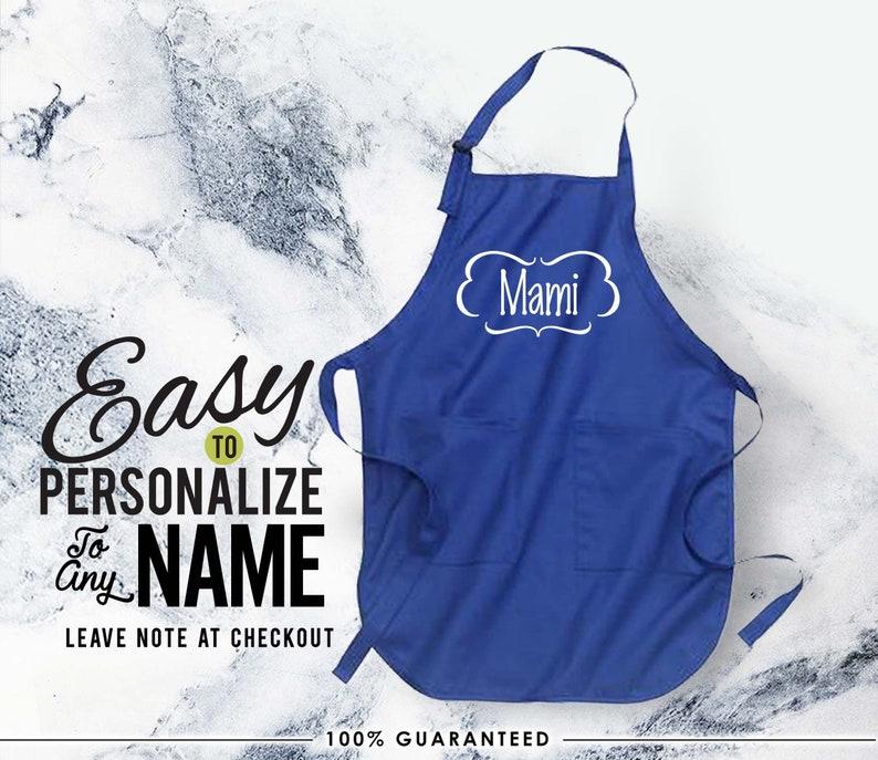 mami gift love custom apron gift Mami mamilife kitchen apron linen apron mami apron apron birthday gift mami gift christmas gift