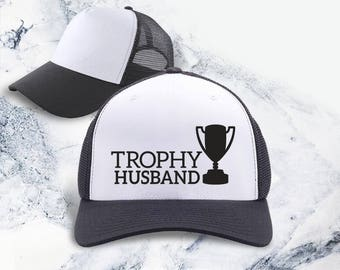 Trophy Husband, husband gift, gift for wife, gift for husband, wife gifts, wife, gifts for husband, husband birthday, wife to husband gift