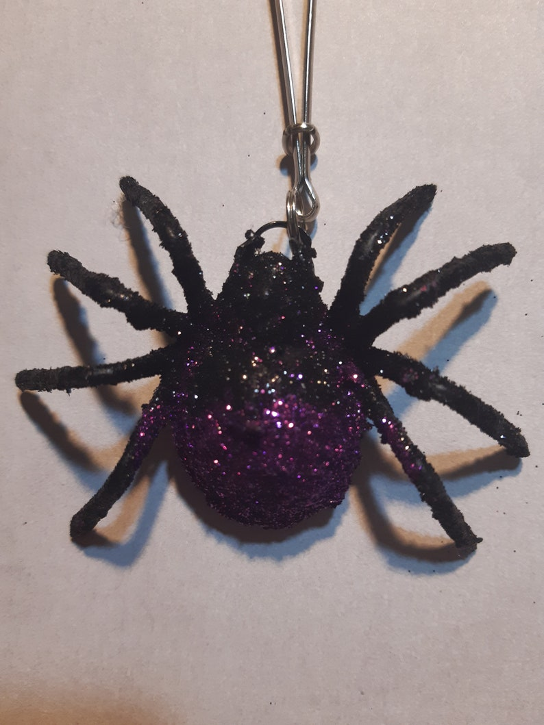 Spooky Spider Nipple Clamps