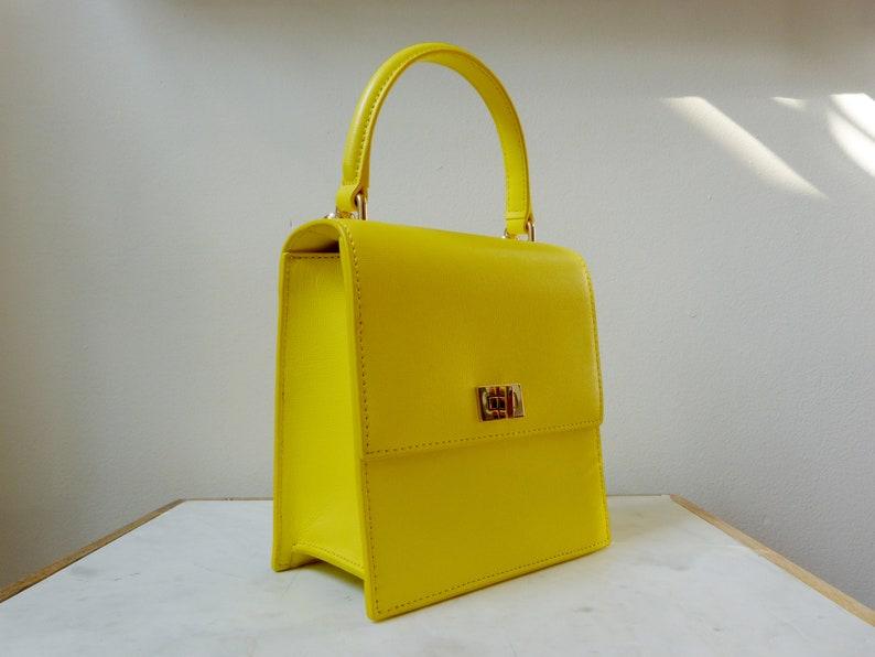 f683da09129d Yellow Top Handle No. 19 Mini Lady Bag Chloe