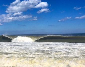 Breaking wave in Ocean City, MD