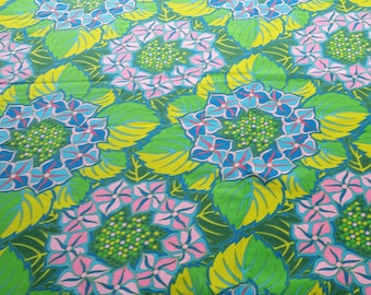 FABRIC, Jane Sassaman, Rare, Out-of-Print, Jane's Floral Fantasty, quilting fabric, cotton from Free Spirit, BTHY, bold, bright, colorful