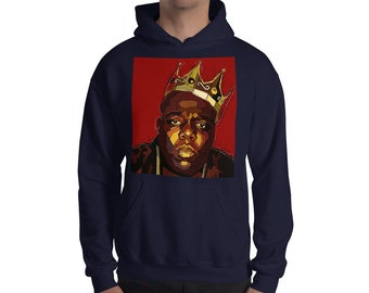 The Notorious B.I.G. Biggie Smalls Hooded Sweatshirt 746dd37fa