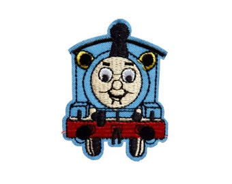 738a4a9f68b Thomas The Train Patches Iron On Patch Cartoon Embroidered Applique Patches  For Jackets