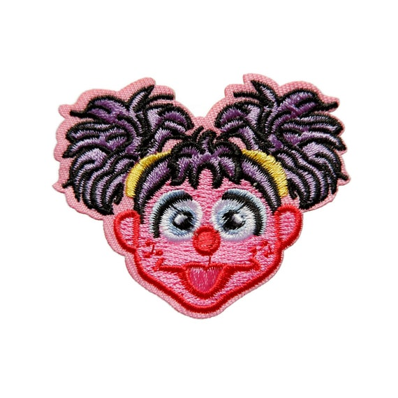 Abby Cadabby Sesame Street Iron On Patch Cartoon Embroidered Sew Applique Patches For Jackets