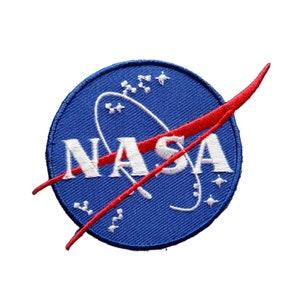 NASA Set of 2 Applique Iron on Patch