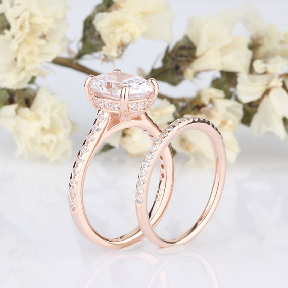 Ring for women gift for her wedding ring engagement ring CZ Trendy ring, Oval Ring Blue color CZ Ring  silver plated Ring