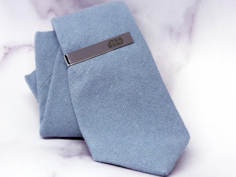 Husband gift STARWARS tie clip husband groom tie clip wedding men gift gift for Dad