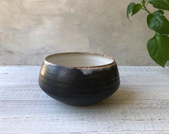 Handmade ceramic Rustic Bowl .