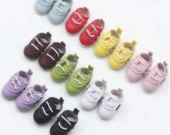 2.3CM Sport Shoes for Blythe Pullip Doll,BJD Doll Shoes Sneakers Outfit for Dolly Bjd 1/8 of Lati Format,Luts Tiny Delf,Irrealdoll,Pukifee