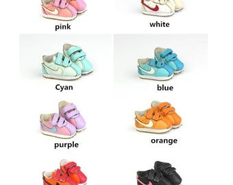 Fashion Doll Shoes Sneakers for Dolls,1/8 BJD Shoes Footwear Retro Sports Shoes for Blythe / DAL / Pullip / Momoko/AZONE/ Lati_y/Pukifee