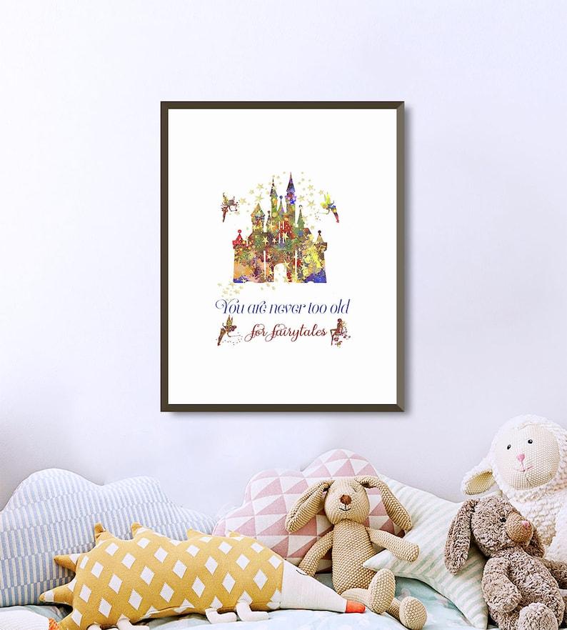 Disney Schloss Silhouette Sind Sie Nie Zu Alt Für Märchen Etsy
