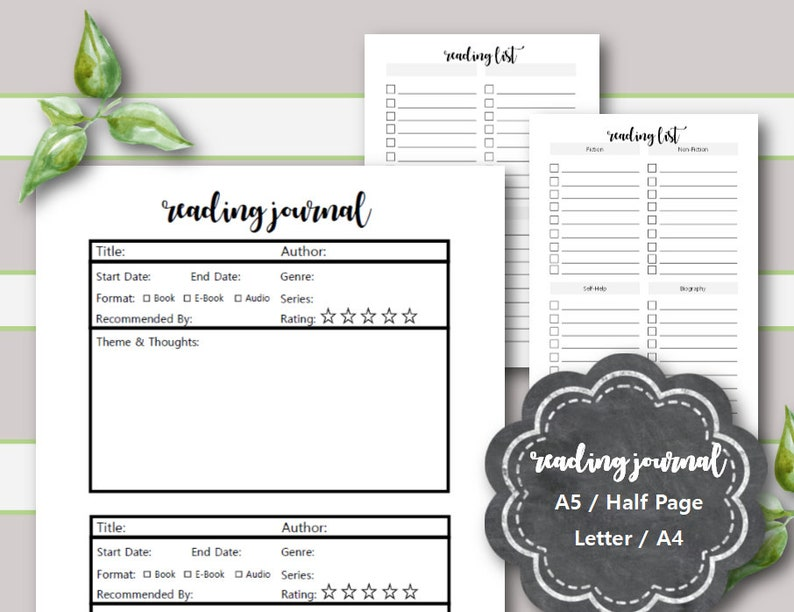 photo regarding Who Was Book Series Printable List named Looking at Magazine Printable, Looking at Log, Reading through Checklist, Ebook Analyze Printable, A5 planner include, Fifty percent Website page, Letter, A4, Filofax, Kikki K